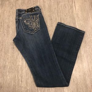 """Miss me boot cut jeans size 29 inseam 32"""""""